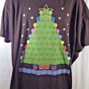 Christmas Tree Periodic Table of Elements T Shirt